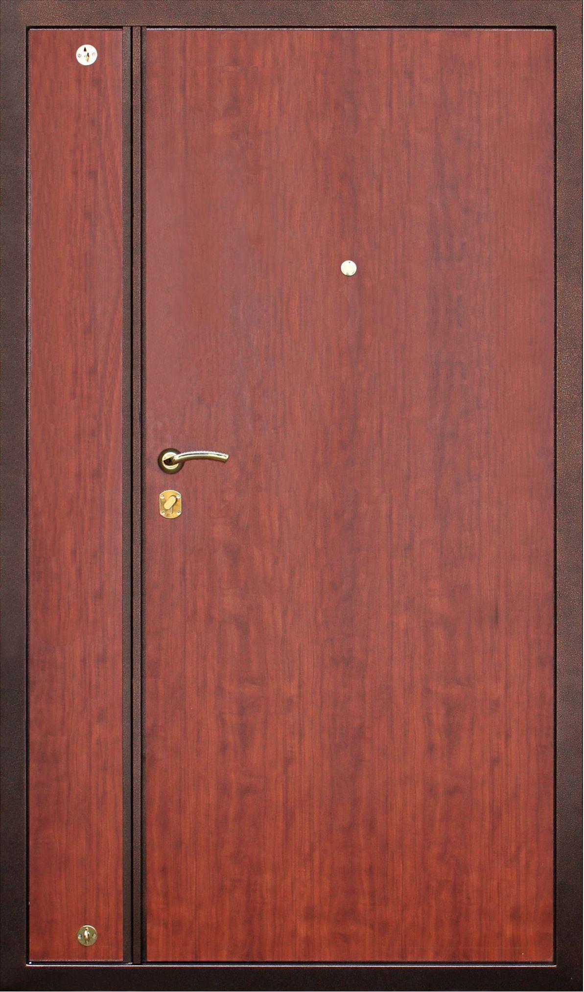 двухстворчетые металлические двери