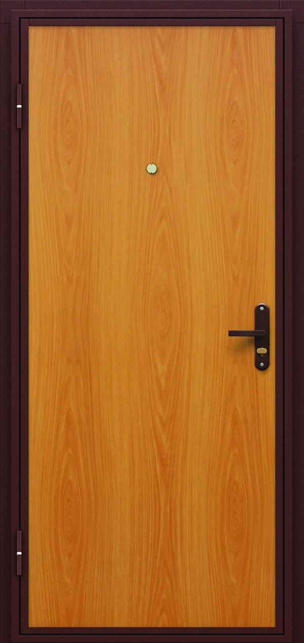стальные гладкие двери